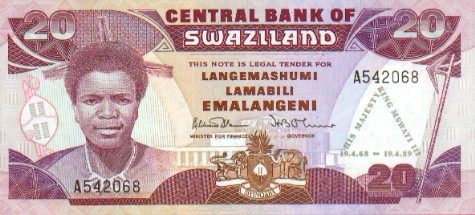 Image result for 8. Swazi Lilangeni.