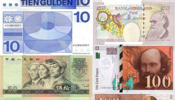 Most Popular Banknotes