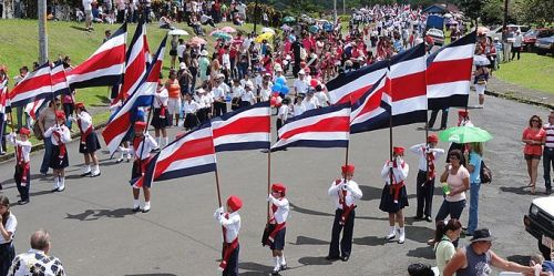 Costa Rican Independence Day Demonstrations