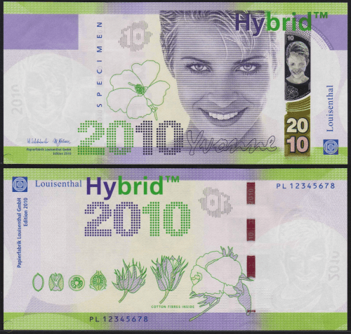 Yvonne Hybrid Test note from 2010. New Bulgaria shares some similarities in design.