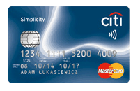citibank karta kredytowa simplicity