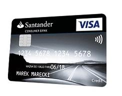 santander karta kredytowa turbo karta
