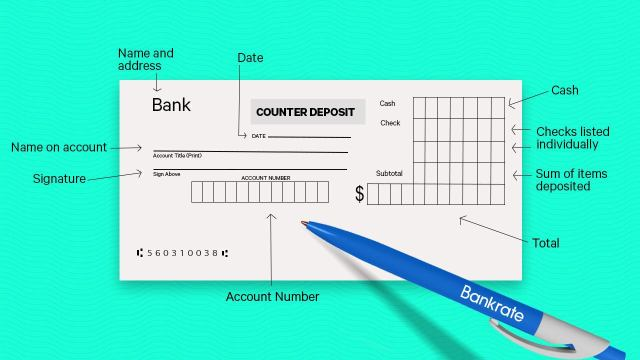 How To Deposit A Check  Bankrate