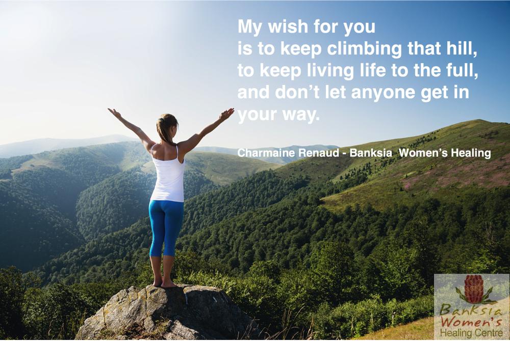 Climbing the Mountain of Life