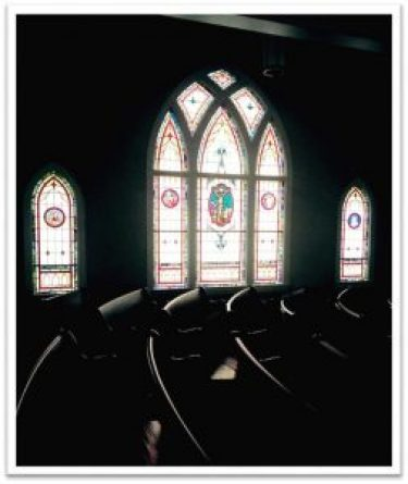 Inside Banks Presbyterian Church