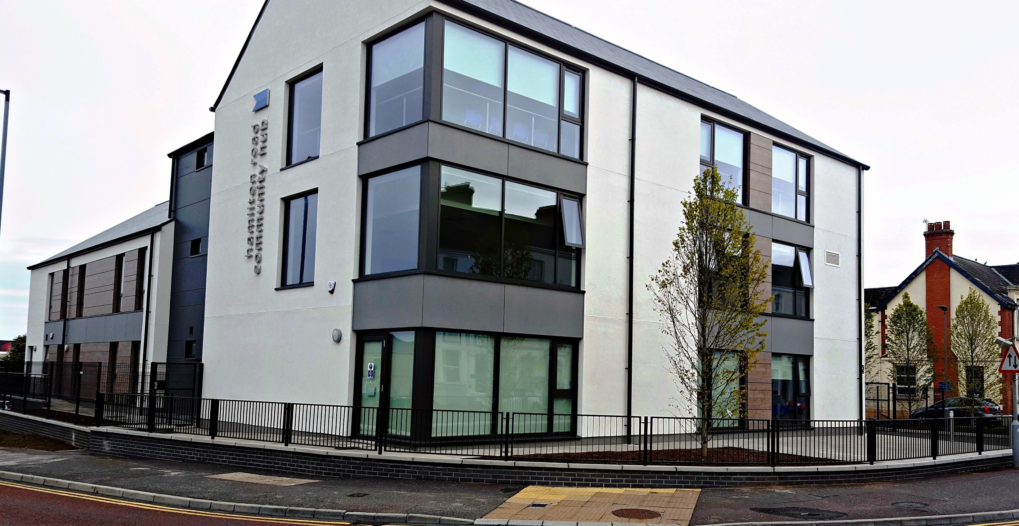 Bann Architectural Systems Community Hub Hamilton Road
