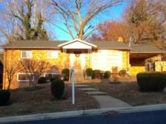 Home for sale in Colonial Village Portal Estates Washington DC