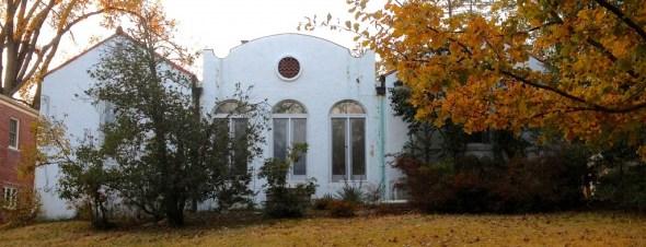 Spanish-style house in Washington DC