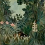 Rousseau, la jungle équatoriale