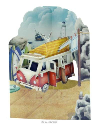 swing carte 3D Santoro Londres - Caravane