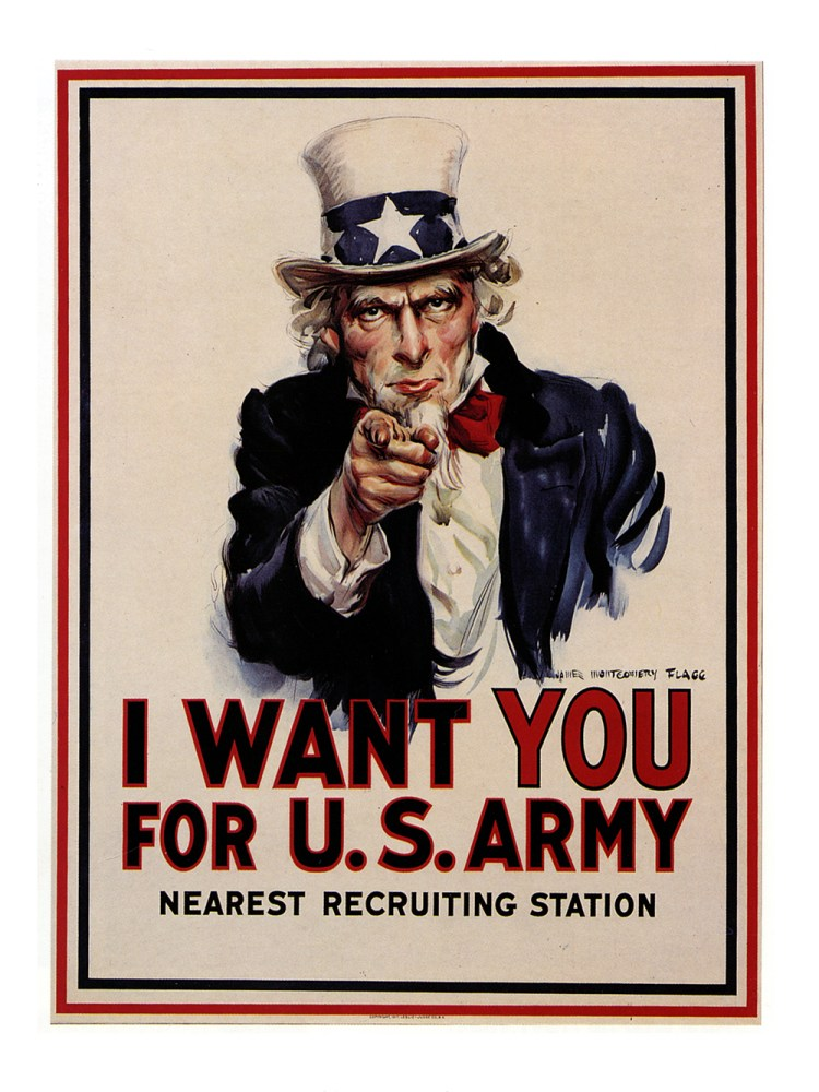 I Want You for US Army, Montgomery Flagg