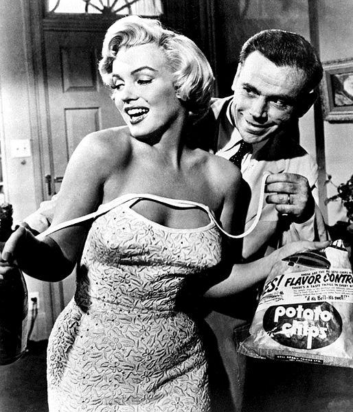 Marilyn Monroe et Tom Ewell, dans Seven Year Itch