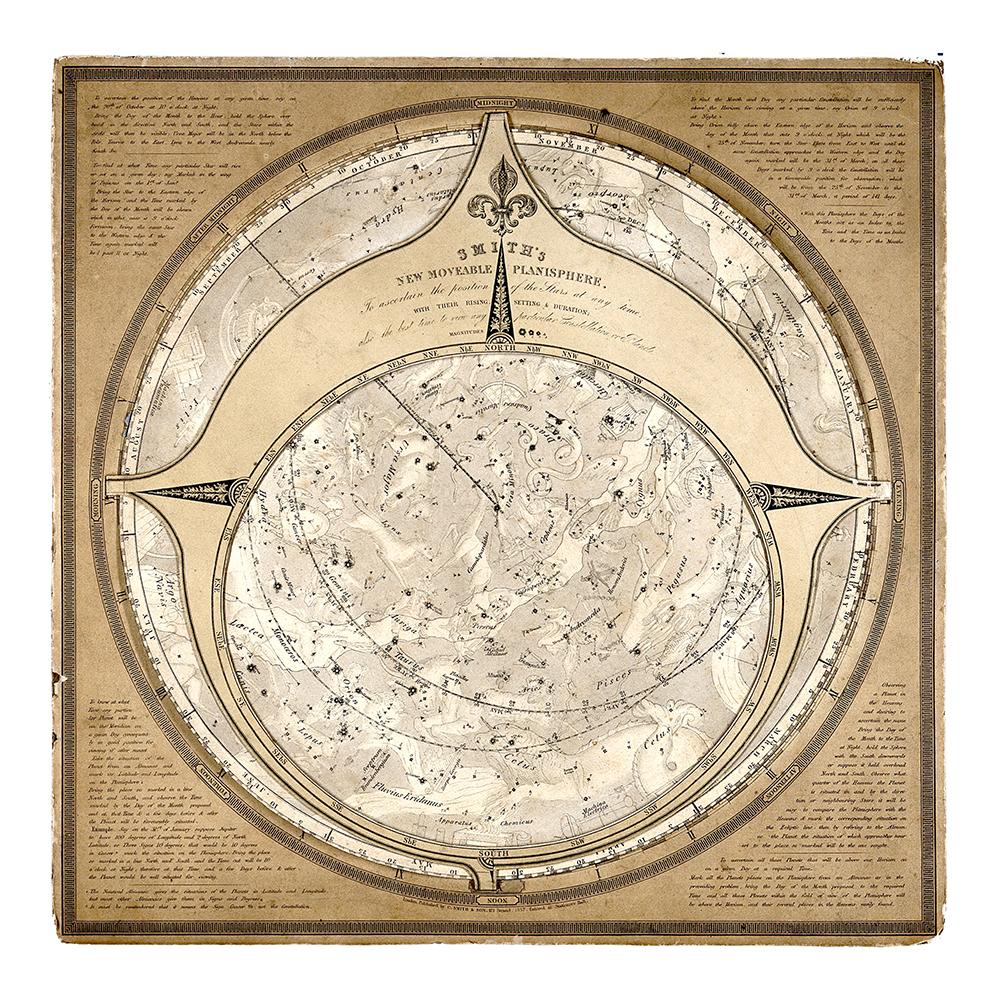 Astrologie, carte du ciel, Banque de l'image