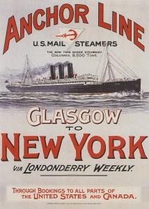 Anchor Line - Glasgow/New York