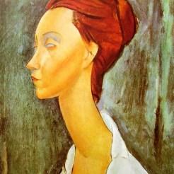 Portrait de Lunia Czechowska, Modigliani, 1919