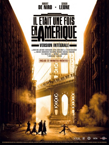 Once upon a time in America, 1984, Sergio Leone