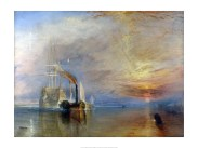 Turner,-The-Fighting-Téméraire-tugged-to-her-last-Berth-to-be-broken-60x80