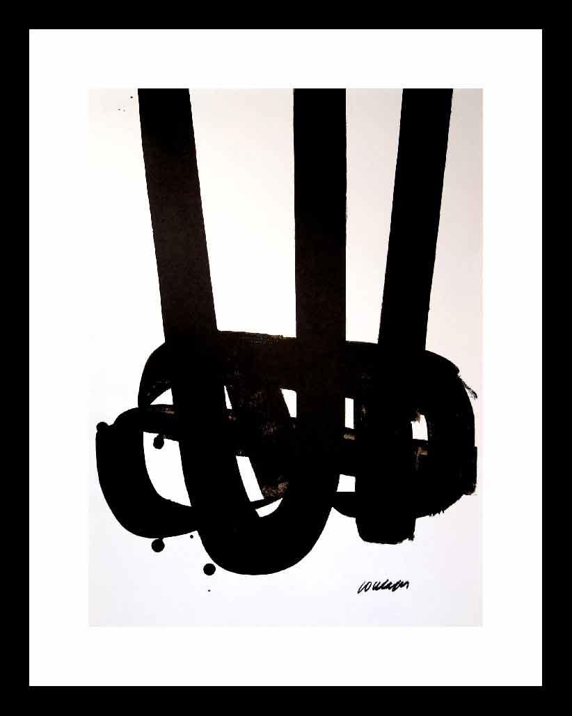 La Banque de l'Image-Reproduction-1972 - Pierre Soulages