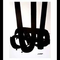 La Banque de l'Image-Reproduction - 1972-Pierre Soulages