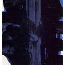 La Banque de l'Image-Reproduction- Huile sur toile - 30 novembre 1967-Pierre Soulages