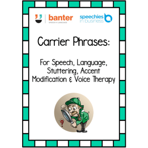 Carrier Phrases