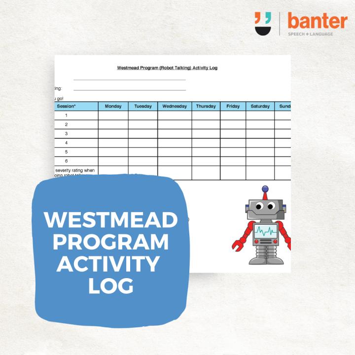 Westmead program activity log