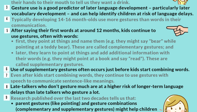 Point it out 10 reasons to use gestures around your kids