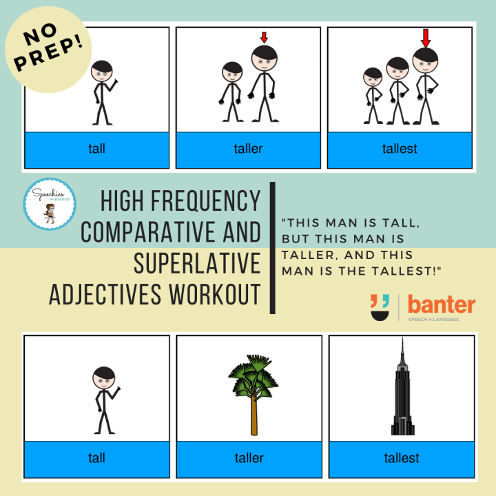 Comparative and Superlative Adjectives Workout
