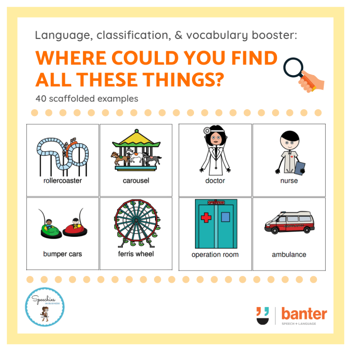 Where could you find all these things