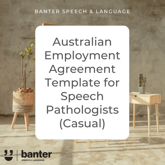 Australian SLP Employment Agreement Casual