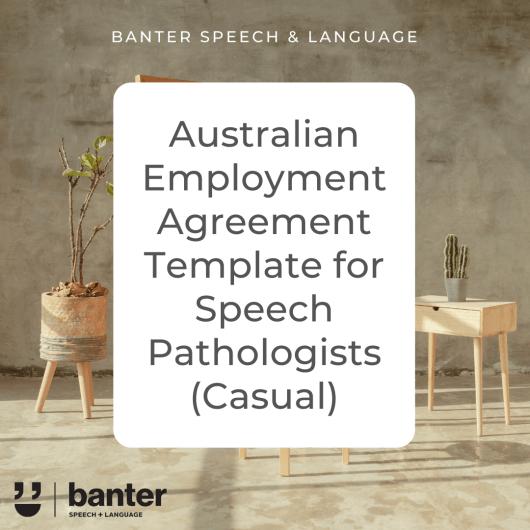 Australian SLP Employment Agreement Casual