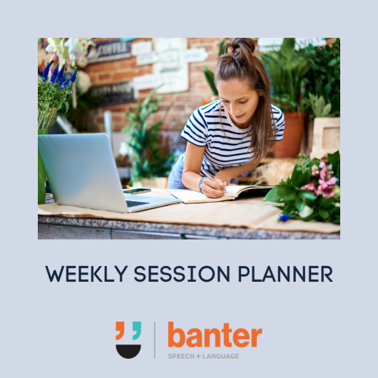 weekly session planner