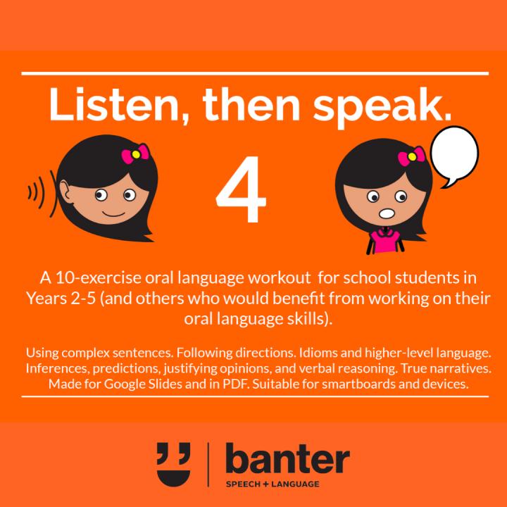 Listen then speak 4