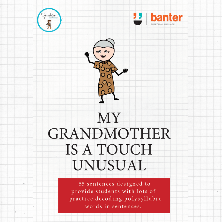 My Grandmother is a Touch Unusual Cover