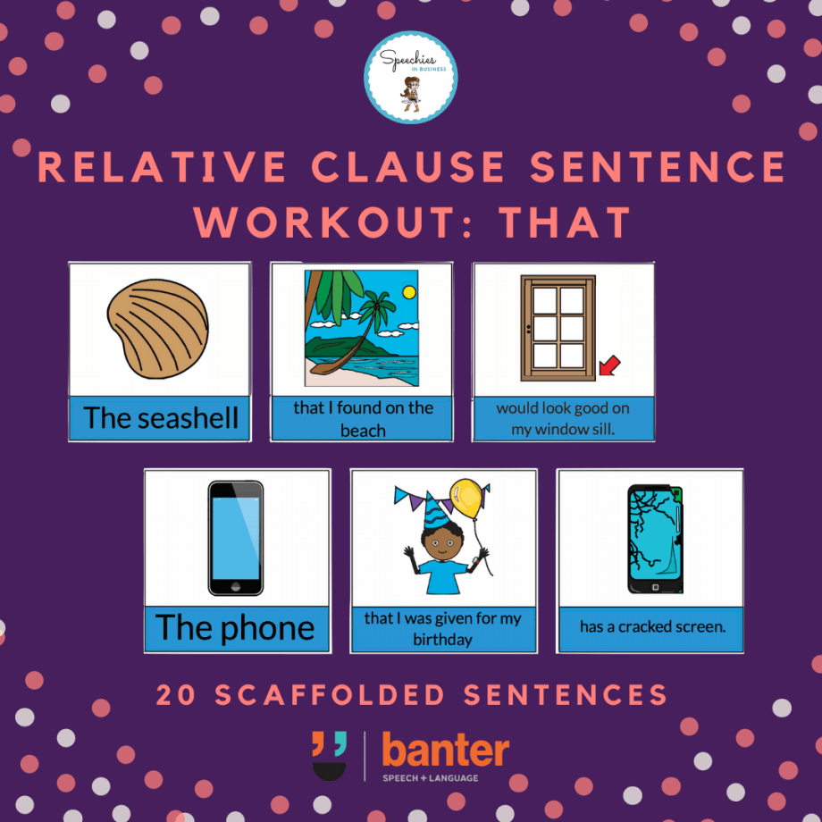 Relative Clauses That