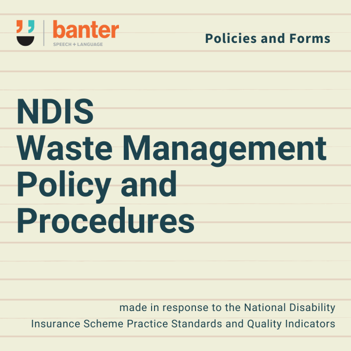 NDIS Waste Management System