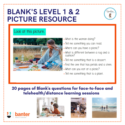 BLANK'S LEVEL 1 & 2 PICTURE RESOURCE