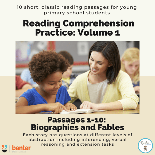 Reading Comprehension Practice_Volume 1
