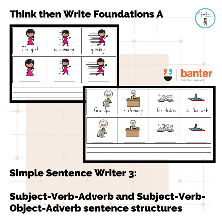 Think and Write Foundations A SSW3 SVA SVOA