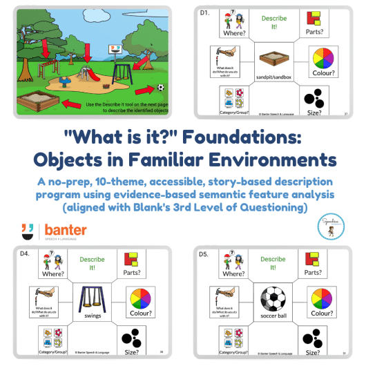 What is it Foundations Objects in Familiar Environments