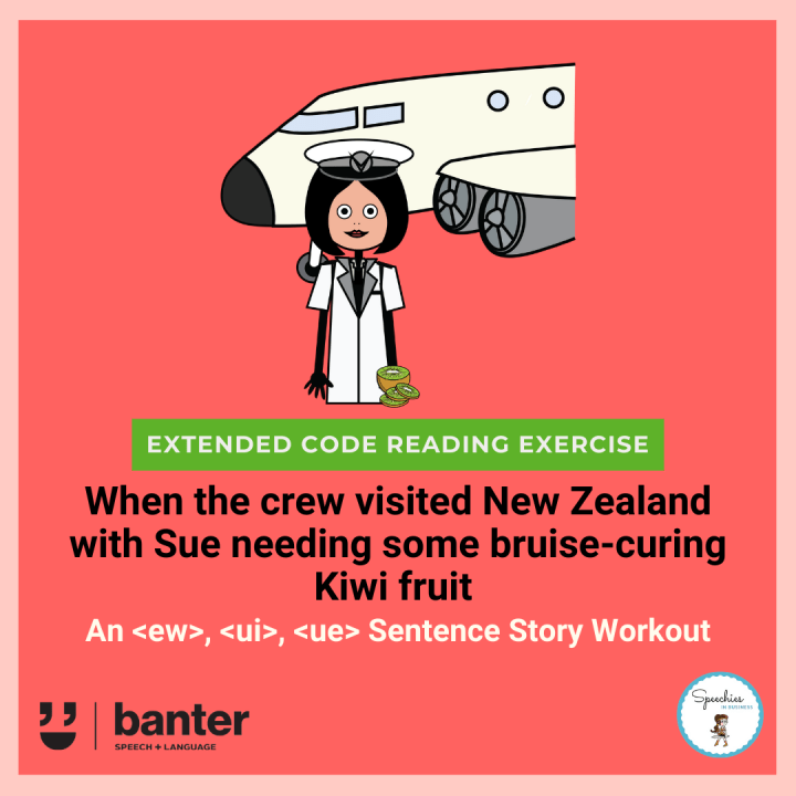 When the crew visited New Zealand with Sue Workout