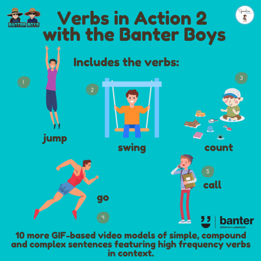 Verbs in Action 2 with the Banter Boys