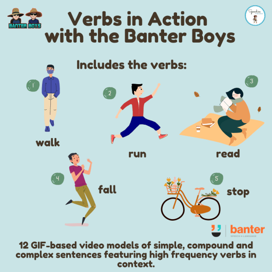 Verbs in Action with the Banter Boys