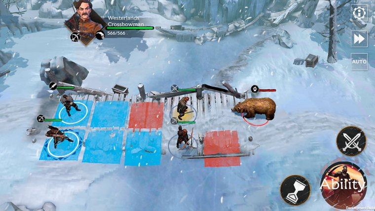 gameplay de Game of Thrones Beyond the Wall