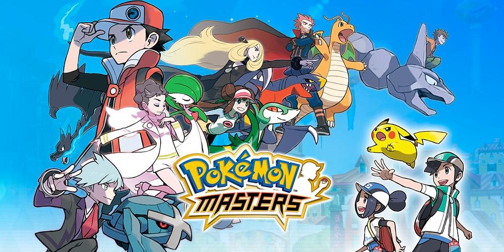 Portada del juego Pokemon Masters