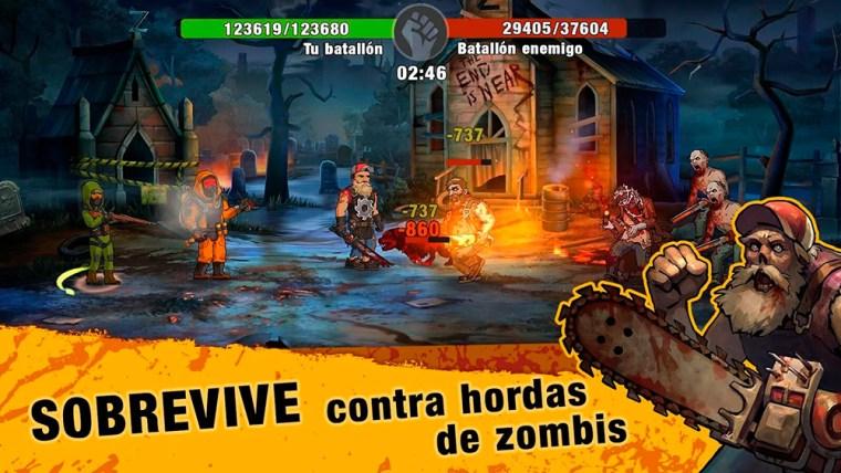 sobrevive contra hordas de zombis en zero city