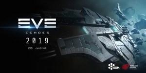 Portada del juego Eve Echoes.