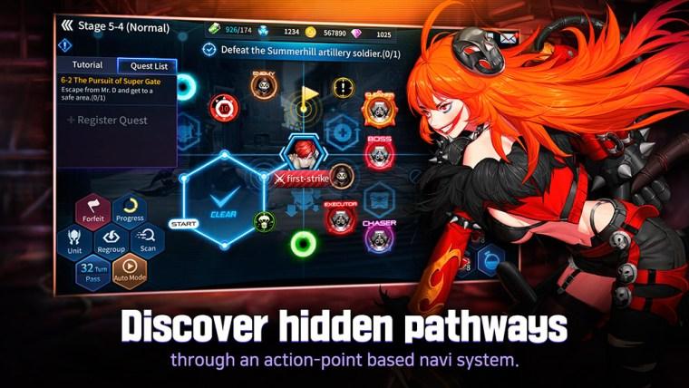 descubre caminos secretos en Gate Six Cyber Persona