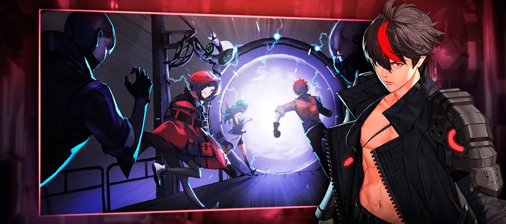 Lex, personaje principal de Gate Six: Cyber Persona.