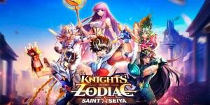 Portada del juego Saint Seiya Awakening: Knights of the Zodiac